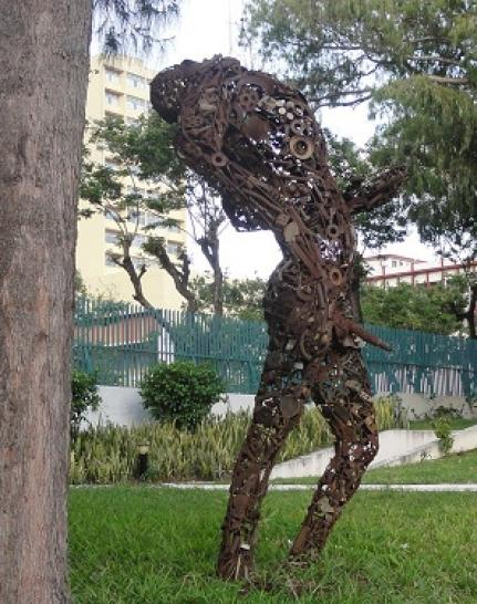 Art permeates the streets of Maputo